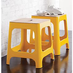 Yellow stool | CB2