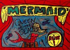 Mermaid Freak Show Banner by terrymwest on deviantART