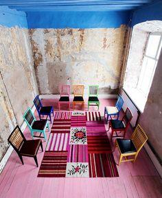 Kaksi kaunista kotia ja väriä syksyyn