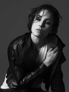 Noomi Rapace in the Millennium Trilogy - she was an amazing Lisbeth Salander