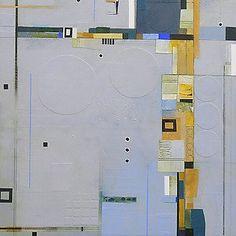 "Timeless Edge  40"" x 40"" work on canvas  @2010 Deborah T. Colter"