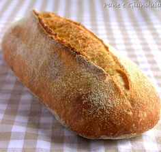 Dopo la pagnottina, ecco anche la ricetta del filone di grano duro, più semplice da