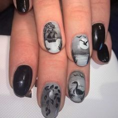 My beautiful nails from my amazing artist. <3