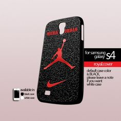 Nike Air Jordan Logo - Print On Hard Case For Samsung Galaxy S4 i9500