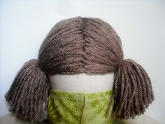 How To - doll hair tutorial - you never know when Raggedy Ann hair is needed!