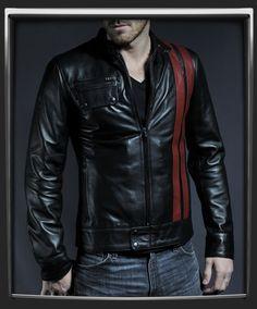 Frankenstein leather jacket by SoulRevolver. Total Serkan Gecmen style :) $435