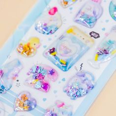 Happy Home Puffy Stickers - Blippo Kawaii Shop Kawaii Gifts, Cute School Supplies, Sticker Bomb, Kawaii Stationery, Kawaii Shop, Welcome Gifts, Everyday Items, Cute Stickers, School Stuff