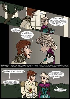 Frozen. Hans, Elsa. Helsa. Iceburns - comic-fanfic - page 2 of 5 by DKettchen.deviantart.com on @DeviantArt