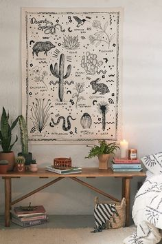Check out Desert Species Reference Chart Tapestry from Urban OutfittersShop Desert Species Reference Chart Tapestry at Urban Outfitters today. We carry all the latest styles, colors and brands for you to choose from right here. Decor, Desert Decor, Room Design, Wall Tapestry, Tapestry, Bedroom Design, Living Room Decor, Home Decor, Apartment Decor