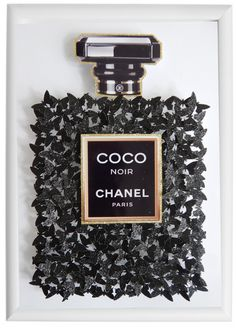 Coco Chanel picture, black glitter picture with butterflies, Bespoke picture,perfume luxury gift, without frame Chanel Decor, Chanel Art, Chanel Perfume, Coco Chanel, Glitter Crafts, Glitter Art, Black Glitter, Glitter Letters, Glitter Force