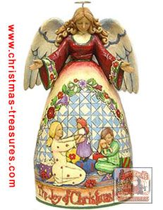 The Joy of Christmas Morning Angel Figurine