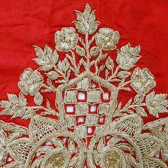 Vintage Art soie tissu perlé main par queensclub, $27.99/ Etsy