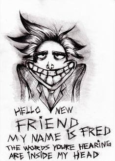 courage the cowardly dog - Freaky Fred, the creepy barber who speaks in rhyme (like Dr. Seuss)