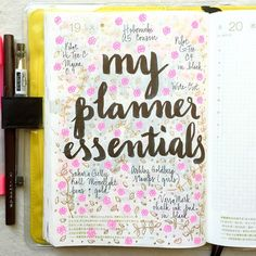 Day 19 of #listersgottalist:my planner essentials 😊 #journal #artjournal #hobonichi #planner #diary #notebook #filofax #mtn #midori #scrapbooking #stationery #pens #doodles #doodling #type #typography #letters #lettering #handwriting #handlettering #lettering #calligraphy #brushpens #brushlettering