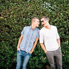 Mark and Ethan // Lifestyle Portraits Gabriel, Mark And Ethan, Same Love, Fun To Be One, My Boyfriend, Cute Couples, Beautiful Men, Hot Guys, Two By Two
