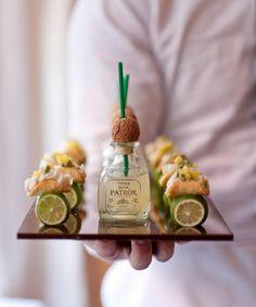 I love this idea...little foods, little margaritas, little tastes.  Mmmmmm.
