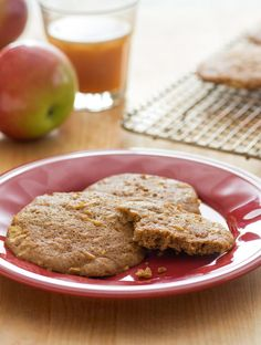Apple Cider Cookies from Rachael's sister, Maria, are the perfect dessert to add to your Thanksgiving table!