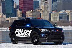 Полицейский Ford Interceptor 2015