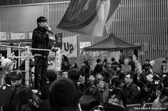 Joshua Wong @ Umbrella Movement Photo by Mike Medd — National Geographic Your Shot