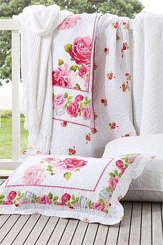 pretty rose linens