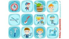 Pikku Kakkosen kommunikaatiokortit | Pikku Kakkonen | Lapset | yle.fi Diy And Crafts, Clip Art, Kids, Young Children, Boys, Children, Boy Babies, Child, Kids Part