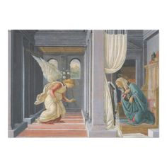 The #Annunciation by Sandro #Botticelli #Announcement