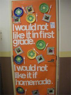dr. seuss decoration ideas | ... Kindergarten Reading Group Slideshows - Dr. Seuss Doors Images