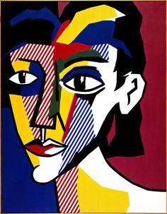 Roy Lichtenstein - Portrait of a Woman, 1979