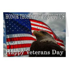 3a9e59eb6fa83 Eagle Flag veterans day Card Military Cards