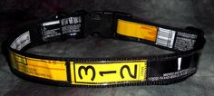 Adjustable Dog Collar from Recycled Goose Island 312 Beer Labels by squigglechick, $20.00