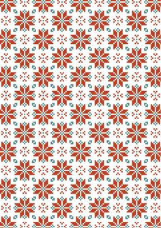 Scandinavian design scrapbook paper
