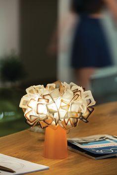 Lentiflex® table lamp CLIZIA TABLE Clizia Collection by Slamp | design Adriano Rachele