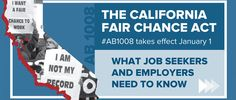 President & CEO Kathlyn Mead discusses the potential impact of California Fair Chance Act going into effect beginning January 1, 2018.