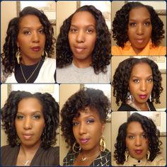 Natural Hair Collage #22 Natural Hair Is So Versatile!! Here are a few styles for inspiration.