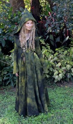 green dyed fairy coat <3