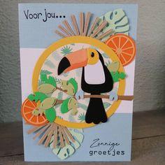 Marianne Design, Making Ideas, Flamingo, Card Ideas, Birthday Cards, Card Making, Tags, Beach, Inspiration