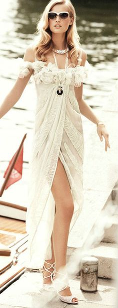 Summer Style Glamour Gown