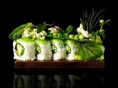 Maki Sushi - picture by Bohman + Sjöstrand Arte Do Sushi, Sushi Art, Sushi Food, Vegan Sushi, Chefs, Molecular Gastronomy, Creative Food, Food Presentation, Food Plating