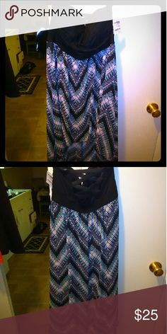 NWT Charlotte Russe strapless summer dress size XL Cute strapless high low sun dress. Short in the front longer in the back.. Charlotte Russe Dresses High Low