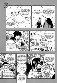 Fairy Tail 510 - Natsu's Heart. Nawww it's teeny tiny baby dragon slayers