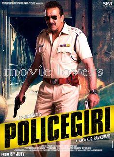 the First look of Sanju baba ''POLICEGIRI''