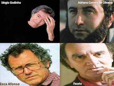 4 Quadras Soltas - Sérgio Godinho, Adriano Correia de Oliveira, Zeca Afonso, Fausto, 1979