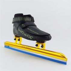 High quality ice Speed skate ice adult skate boot carbon long track skating shoes dislocation ice skate blade 380mm 410mm 430mm