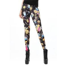 Women Leggings Animal Print Cartoon Adventure Time Cute Knitted Long Pencil Pants Calzas Deportivas Mujer Fitness Just look, that`s outstanding! Mesh Yoga Leggings, Sports Leggings, Printed Leggings, Workout Leggings, Workout Pants, Women's Leggings, Leggings Are Not Pants, Leggings Store, Cheap Leggings