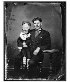 Le lieutenant Herman et son pantin, 1870.