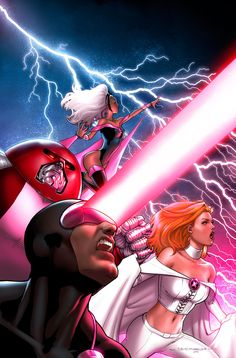 Uncanny X-Men by Jeremy Roberts