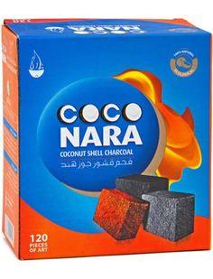 Coco Nara Hookah Shisha Natural Charcoals 120 Pieces Coco...