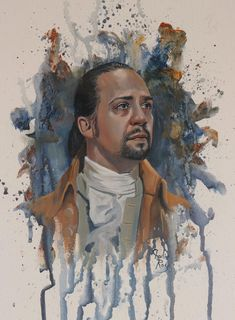 Hamilton Musical, Lin Manuel Miranda, Musicals, Painting, Art, Art Background, Painting Art, Kunst, Paintings