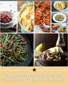 Thanksgiving Side Dishes That Take Up No Oven Space | thegoodstuff