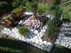Resultado de imagen para jardines con piedras y plantas